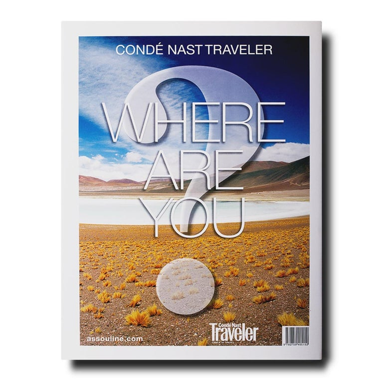 Conde Nast Traveler Where Are You? (Hardcover) In stock in Los Angeles  Nothing reveals the splendor of travel as succinctly as the first encounter with an exotic, jaw-dropping vista. Taking off from that sublime experience of the unknown, Conde