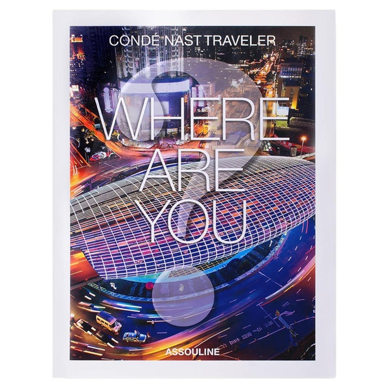 In Stock in Los Angeles, Conde Nast Traveler Where Are You? For Sale