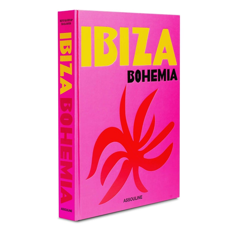 Ibiza Bohemia (Hardcover) by Renu Kashyap & Maya Boyd In stock in Los Angeles  From roaring nightlife to peaceful yoga retreats, Ibiza's hippie-chic atmosphere is its hallmark. This quintessential Mediterranean hot spot has served as an escape