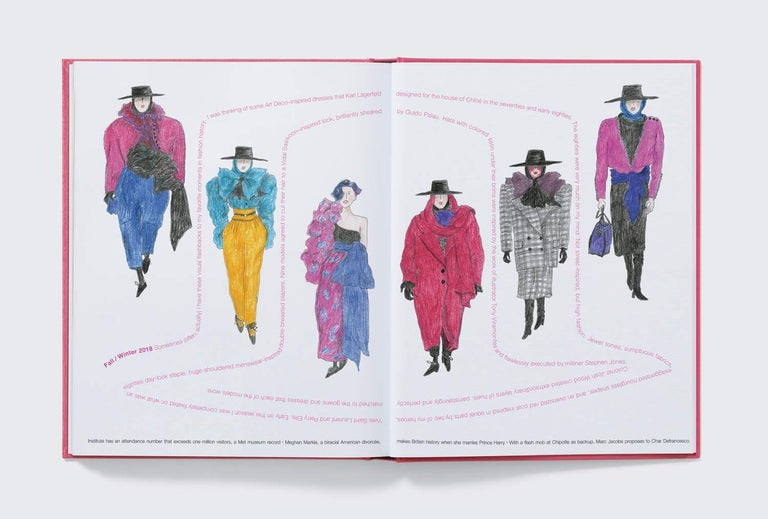 Modern in Stock in Los Angeles, Marc Jacobs Illustrated by Grace Coddington For Sale