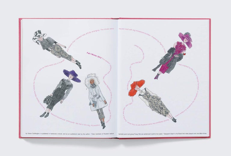 American in Stock in Los Angeles, Marc Jacobs Illustrated by Grace Coddington For Sale