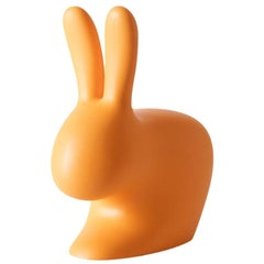In Stock in Los Angeles, Orange Rabbit Chair by Stefano Giovannoni