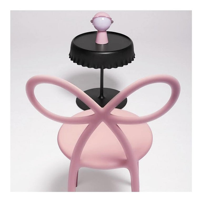 Italian In Stock in Los Angeles, Pink Daisy Lamp with LED by Nika Zupanc, Made in Italy  For Sale