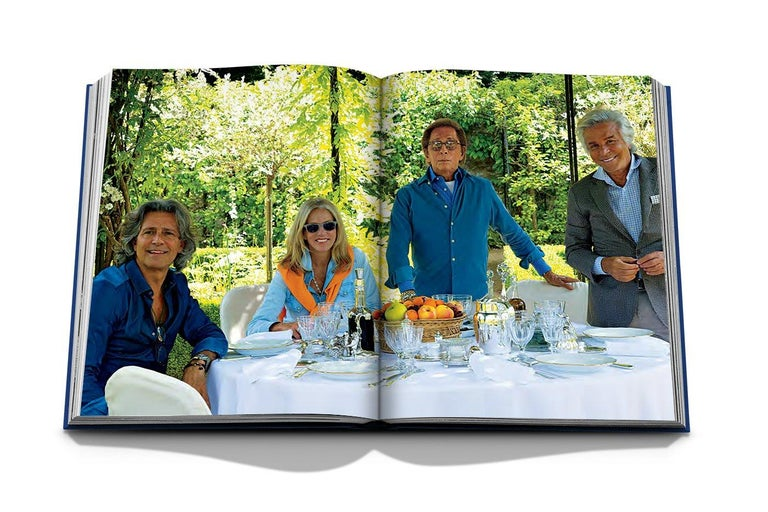 American In Stock in Los Angeles, Valentino: At the Emperor's Table by André Leon Talley For Sale