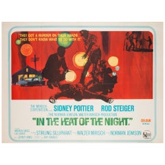 In the Heat of the Night Original UK Film Poster, 1967