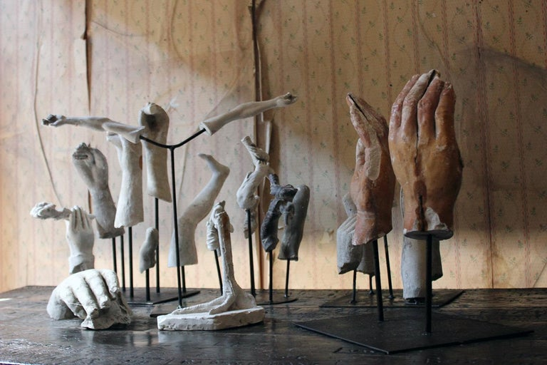 In the Manner of Eduardo Paolozzin Group of 23 Plaster Maquettes 5
