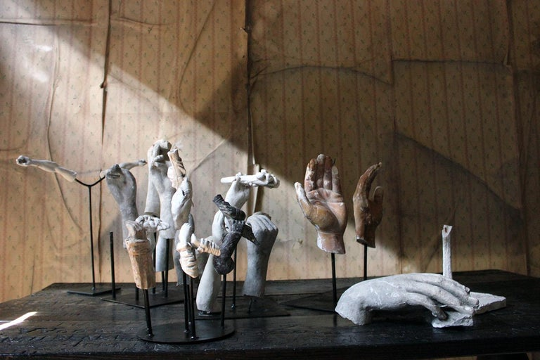 In the Manner of Eduardo Paolozzin Group of 23 Plaster Maquettes 6