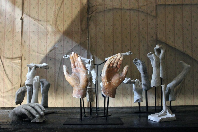 In the Manner of Eduardo Paolozzin Group of 23 Plaster Maquettes 10
