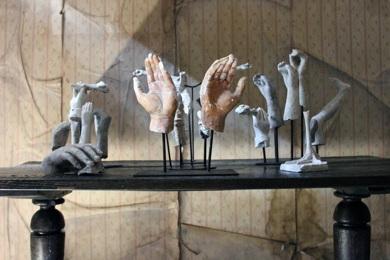 In the Manner of Eduardo Paolozzin Group of 23 Plaster Maquettes 11