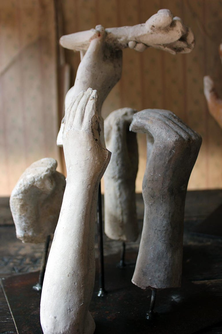 In the Manner of Eduardo Paolozzin Group of 23 Plaster Maquettes 2