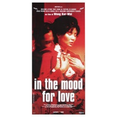 'In the Mood for Love' 2000 Italian Locandina Film Poster