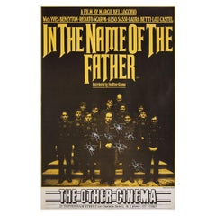 In the Name of the Father 1971 British Double Crown Film Poster