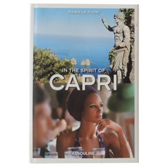 In the Spirit of Capri by Pamela Fiori Hardcover Book