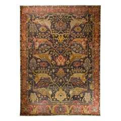 In the Style of Bidjar Old Indian Rug