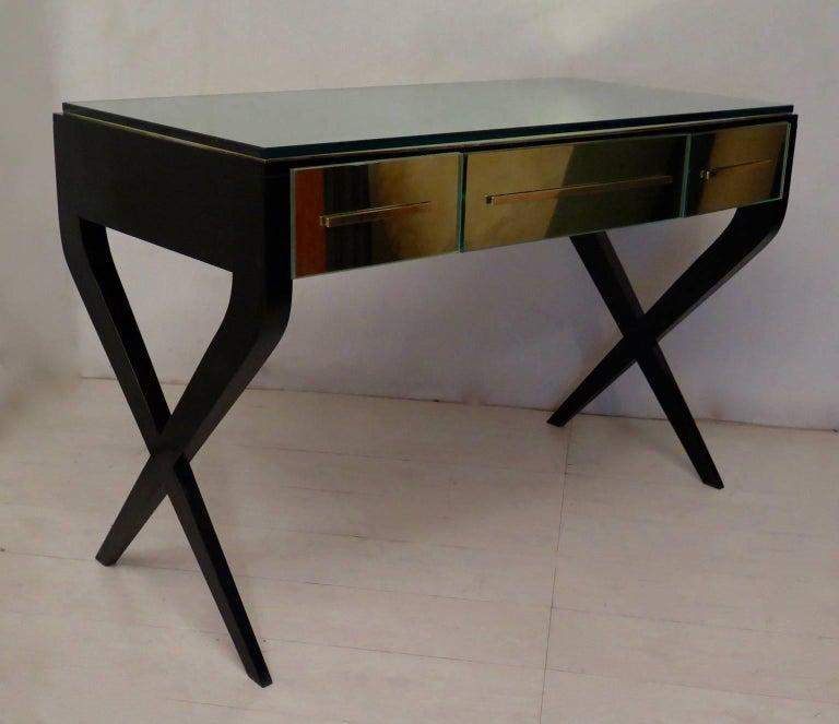 In the Style of Gio Ponti Italian Desk, 1950 For Sale 4