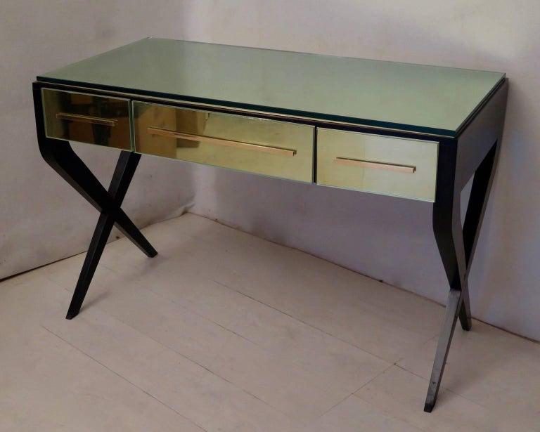 In the Style of Gio Ponti Italian Desk, 1950 For Sale 2