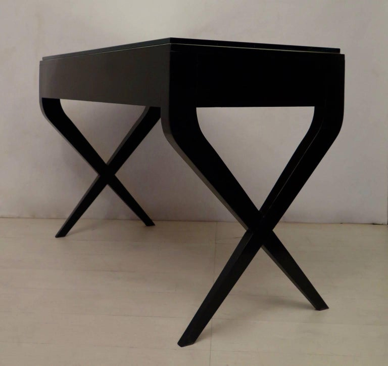 In the Style of Gio Ponti Italian Desk, 1950 For Sale 3