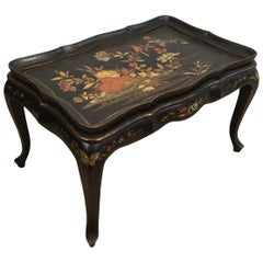 In the Style of Maison Hirch, Neoclassical Style Lacquered Coffee Table