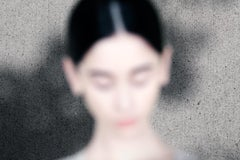 a face – Ina Jang, Abstract, Minimalistic, Object, Art, Woman, Girl, Colour