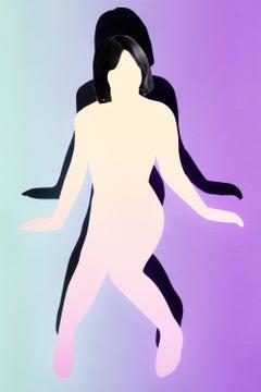 Fuchsia – Ina Jang, Woman, Abstract, Art, People, Girls, Colour, Erotic, Nude