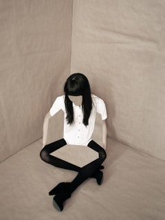 Paper Girl – Ina Jang, Abstract, Minimalistic, Object, Art, Girl, Woman, Fashion