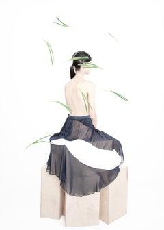 preening – Ina Jang, Abstract, Minimalistic, Woman, Fashion, Nude, Surrealism