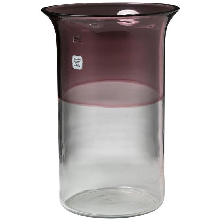 """""""Incalmo"""" Vase by Alfredo Barbini for Barbini For Sale"""