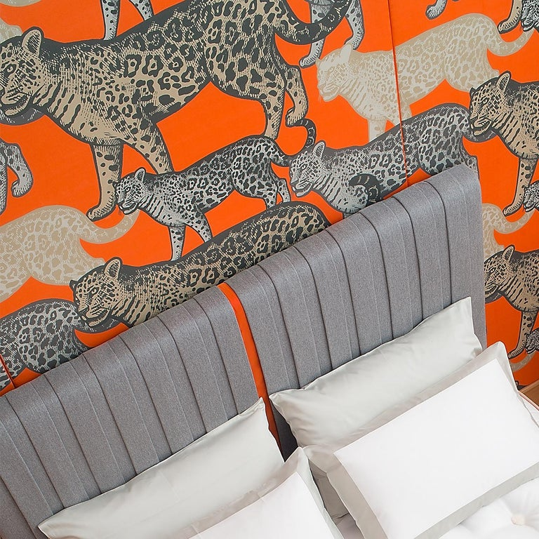 Modern Incontri Bed Set by Midsummer Milano For Sale