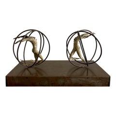 Incontro Bronze Sculpture