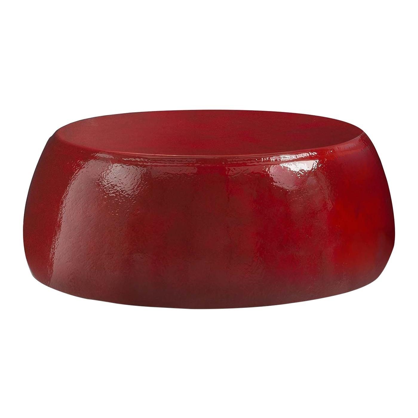 Incontro Large Cherry Pouf