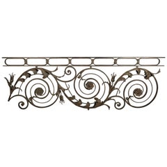 Incredible 1920s Wrought Iron Architectural Element