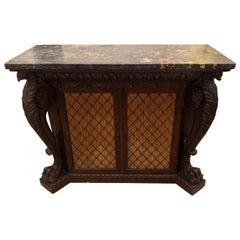 Incredible 19th Century English Regency Marble top Console