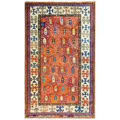 Incredible 19th Century Ganjeh Rug