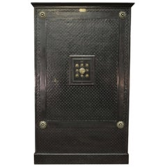 Incredible 19th Century Iron Safe by Gangnebien, Paris