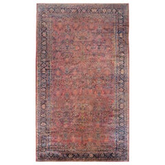 Incredible Early 20th Century Sarouk Rug