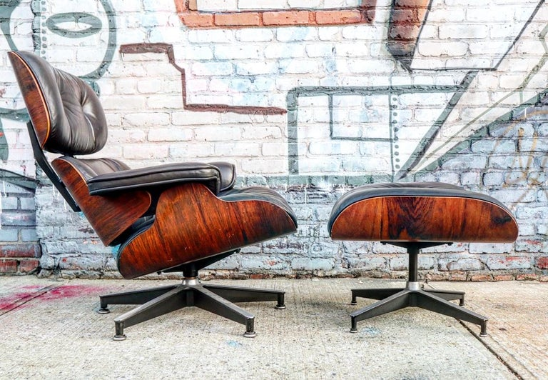 Cool Incredible Herman Miller Eames Lounge Chair And Ottoman Pabps2019 Chair Design Images Pabps2019Com