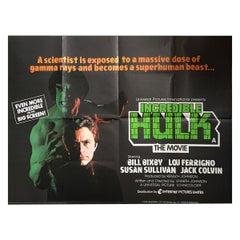 """Incredible Hulk"", The '1977' Poster"
