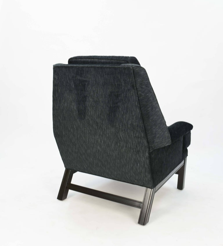 Incredible Pair of Midcentury Club Chairs Completely Redone In Good Condition For Sale In Portland, OR