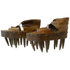 Unglaubliche Schuhe, Kastanien aufzubrechen, 19tes Jahrhundert
