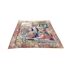 """888 - Incredible Tapestry Gobelin 16th Century, """"The Birth Of Hercules"""""""