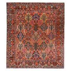 Incredible Vintage Bakhtiari Rug