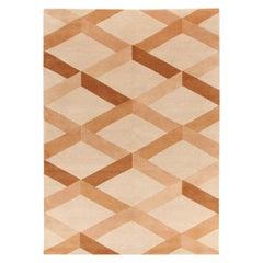 Incroci Beige Carpet by Gio Ponti