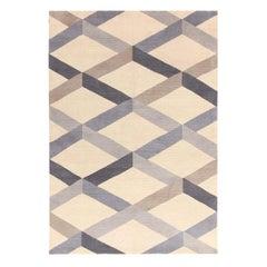 Incroci Blue Carpet by Gio Ponti