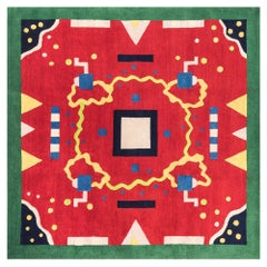 INDIA Woollen Carpet by George J. Sowden for Post Design Collection/Memphis