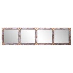 Indian Antique Door Panel Mirror