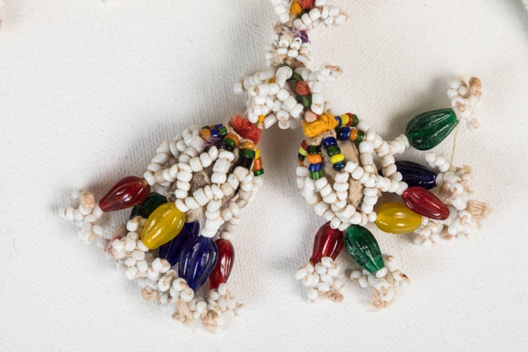 Indian Bead and Cloth Tassels In Good Condition For Sale In Los Angeles, CA