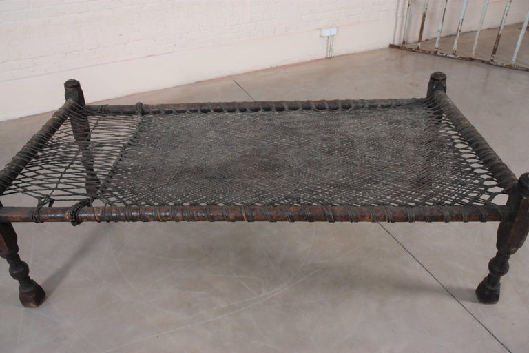 British Colonial Indian Bed For Sale