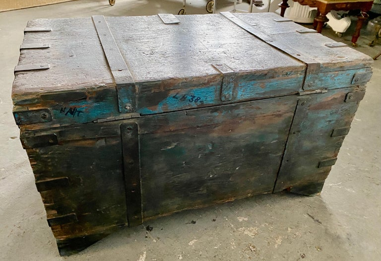 Indian Blanket Chest For Sale 1