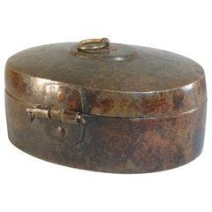 Indian Brass Betel Box Pandan, India, 19th Century