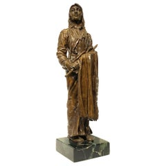 Indian Bronze Sculpture after Carl Kauba